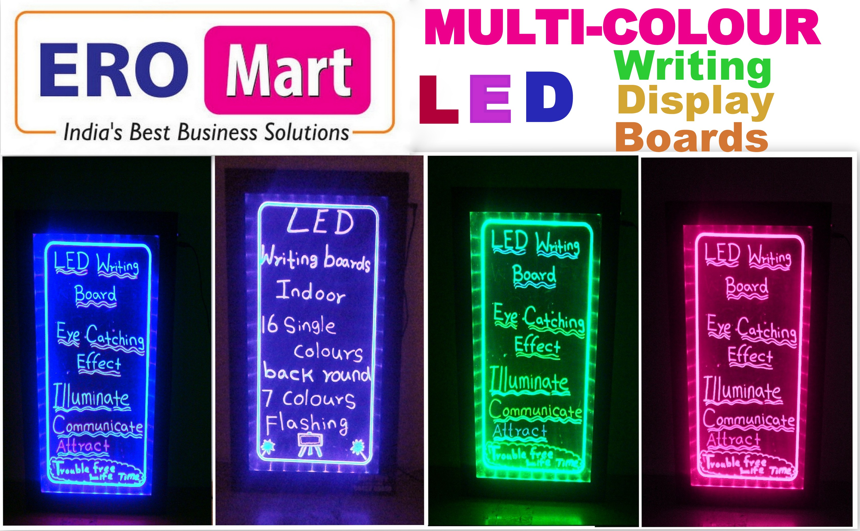 Led Writing Board Manufacturers Ero Mart Leading Cash Counting Color Changing Light Circuit Buy Boardsled